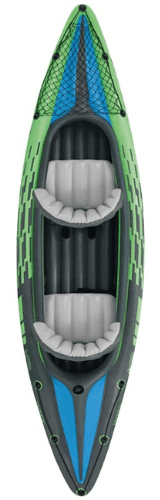 kayak para 2 personas hinchable, kayak doble verde, canoa inflable, piragua hinchable