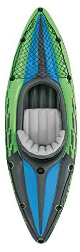 kayak hinchable, kayak inflable verde individual